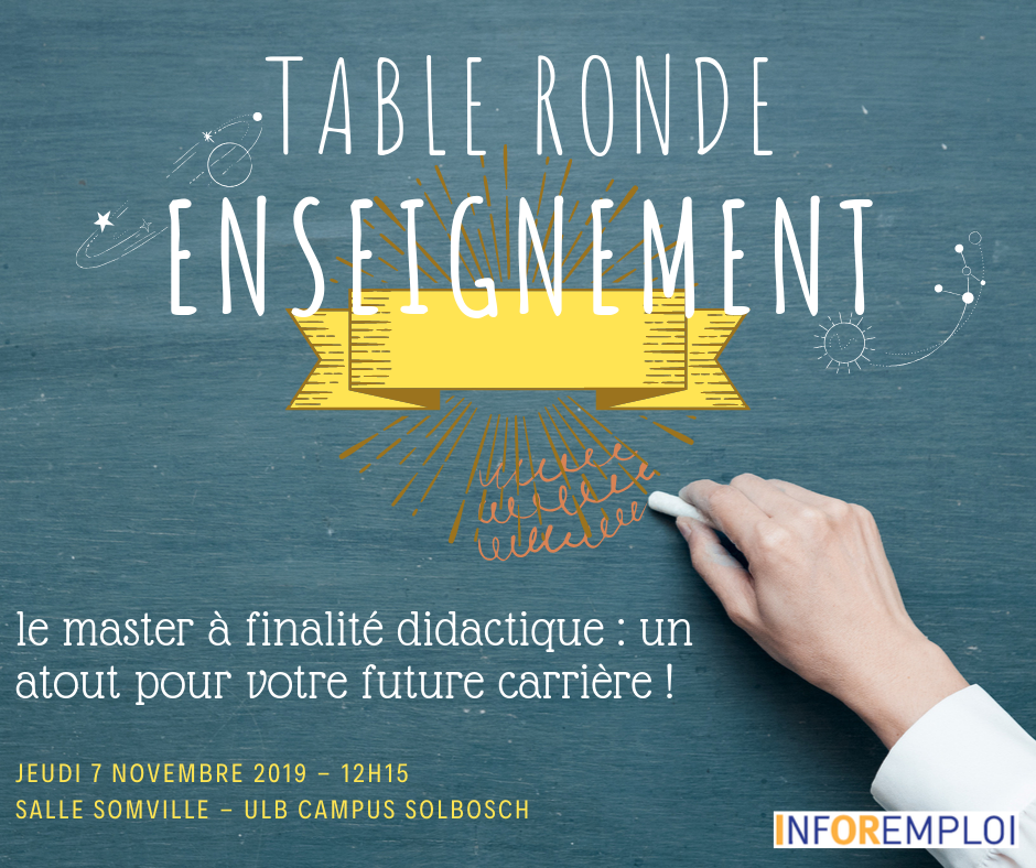 Table ronde enseignement #1